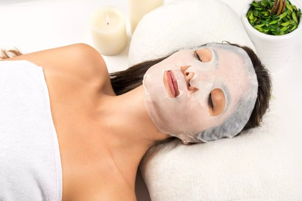 Silk Collagen Face Mask