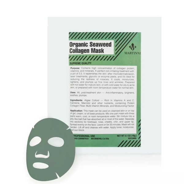 Organic Seaweed Collagen Mask