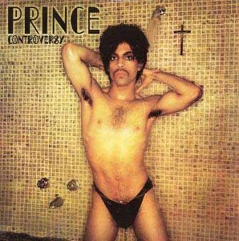 Omslaget till Controversy (1981), en av Prince tidiga album