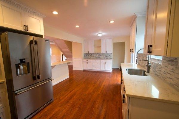 Ridge kitchen - after