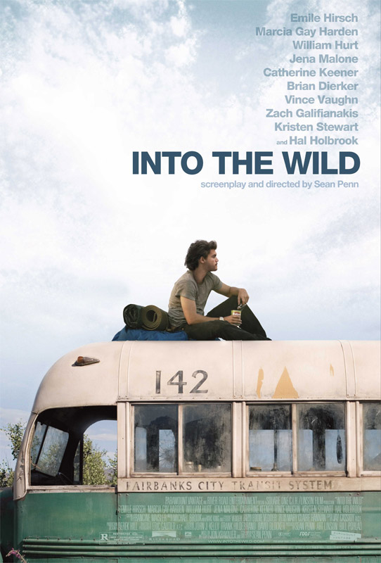 Into the wild di Sean Penn: la cover del dvd