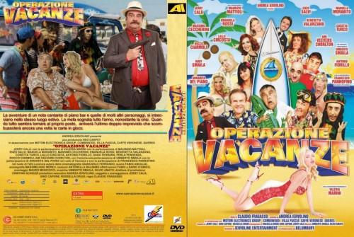 Operazione Vacanze - La cover del dvd