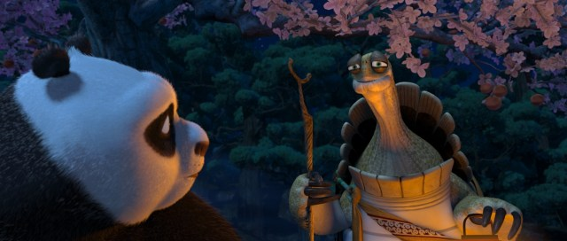 Oogway parla a Po