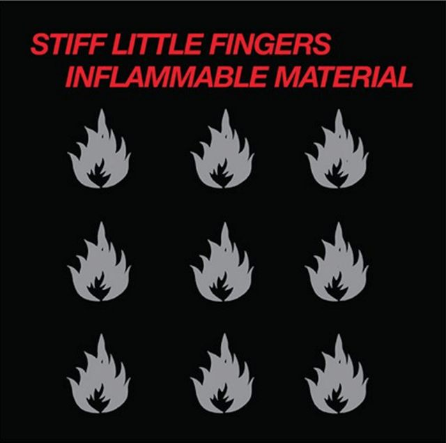 Stiff Little Fingers - Inflammable material cover album