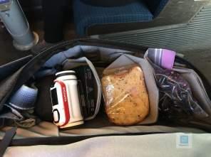 Everyday Backpack gefüllt und bereit für die Reise