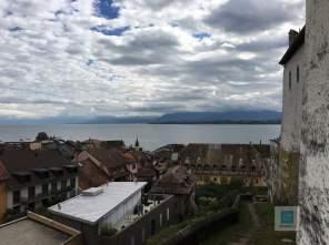 Ausblick vom Schloss in Nyon