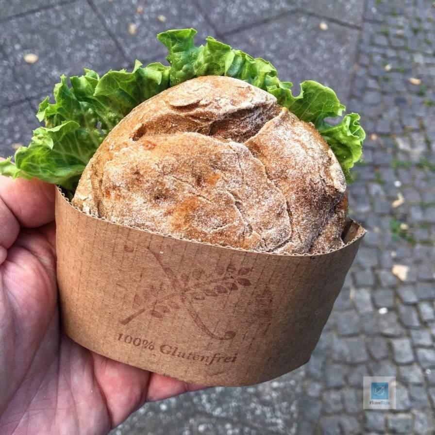 Kurzer Besuch in der Jute-Bäckerei In Berlin