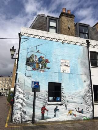 London 2016 mit Huawei - Street-art in der Stadt London