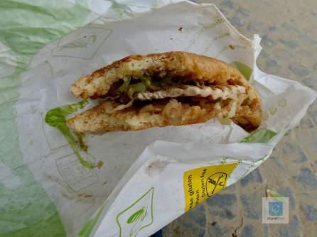 Lecker glutenfreies Sandwich