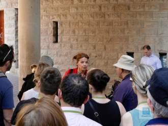 Unsere Führerin durch die Sagrada Familia