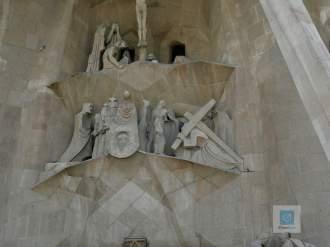 La Sagrada Familia von Aussen