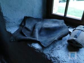 Der einzige Schutz gegen die Kälte und Feuchtigkeit