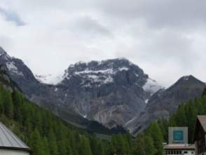 Berge so weit wie das Auge reicht
