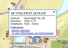 Find Norwegian place names