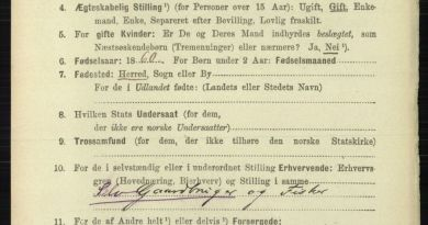Norwegian censuses available at MyHeritage and Ancestry.com