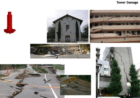 Tower damage.