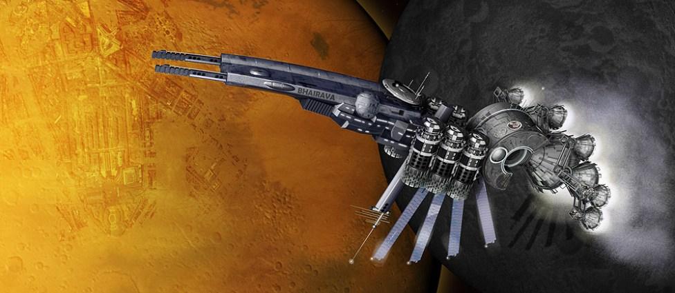 Deep space missile vessel.