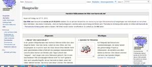 Im neuen Look, kommt Wikipedia sehr nahe
