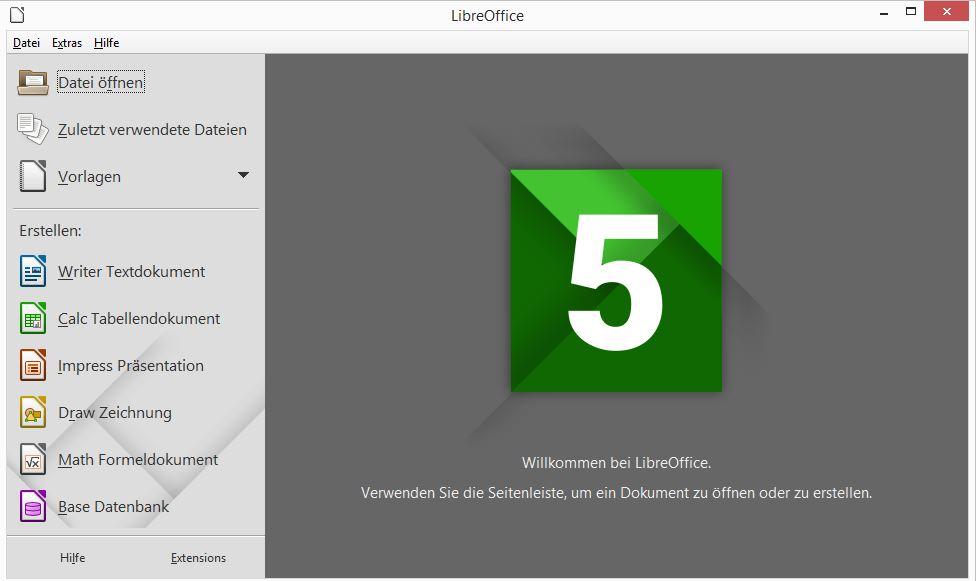 LibreOffice – eine gute und kostenlose Bürosuite