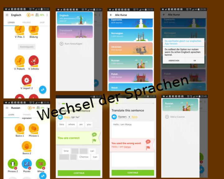 Wechsel zwischen Laut- und Sprachwelten – Eine Reise durch Duolingo