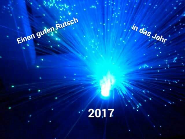 Ein gesundes neues Jahr 2017…