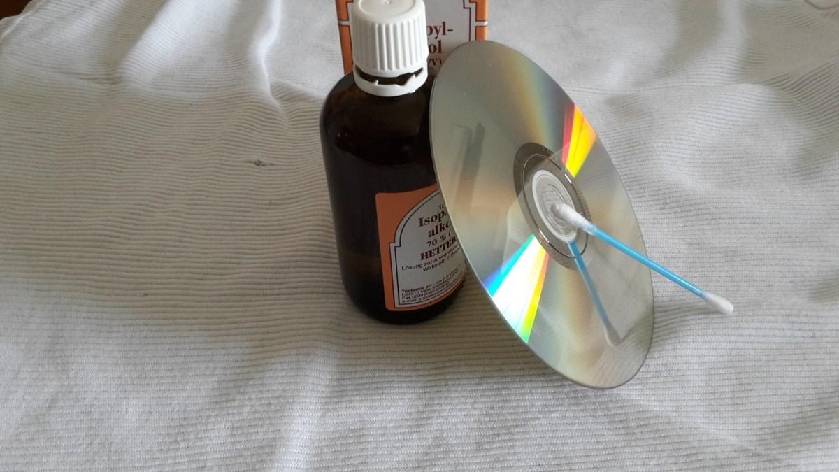 Isopropylpentanol + Wattestäbchen =