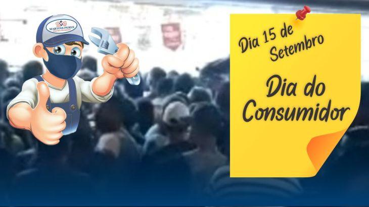 Dia do consumidor é na Martins Peres