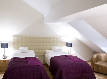 Twin room - photo copyright Icon hotel