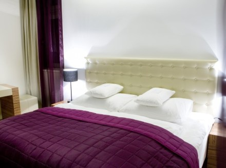 Double bed - hand made - - photo copyright Icon hotel