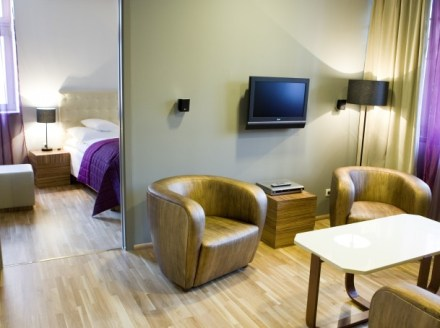 Suite and my favourite armchair - photo copyright Icon hotel