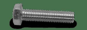 silver hex head bolt