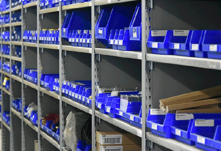 clean storeroom shelves