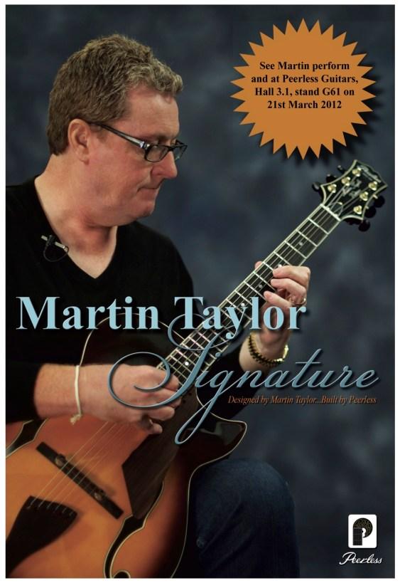 Martin Taylor MusicMesse 2012 Frankfurt