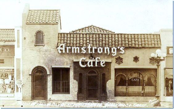 Armstrong's Cafe at 6600 Hollywood Blvd