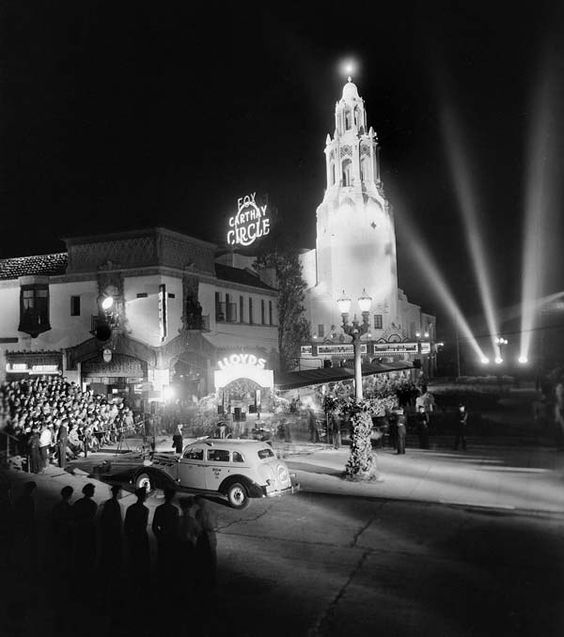 "Premiere of ""Lloyds of London"" at the Carthay Circle Theater, November 25, 1936"