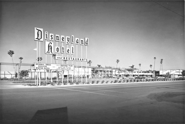Disneyland Hotel, Anaheim, California, 1958