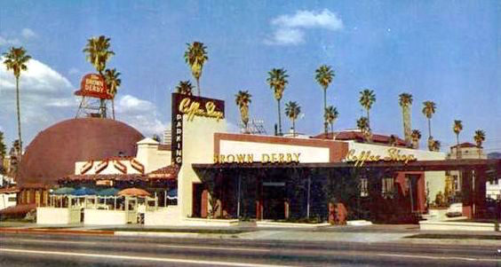 Original Brown Derby restaurant and coffee shop, 3427 Wilshire Boulevard, Los Angeles