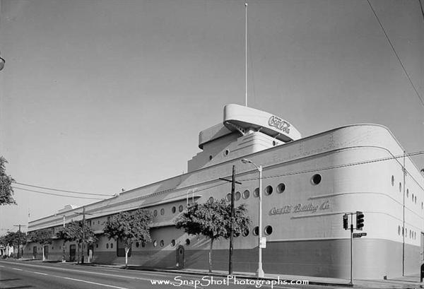 Coca Cola Bottling Plant Building, 1334 South Central Avenue, Los Angeles, circa late 1930s