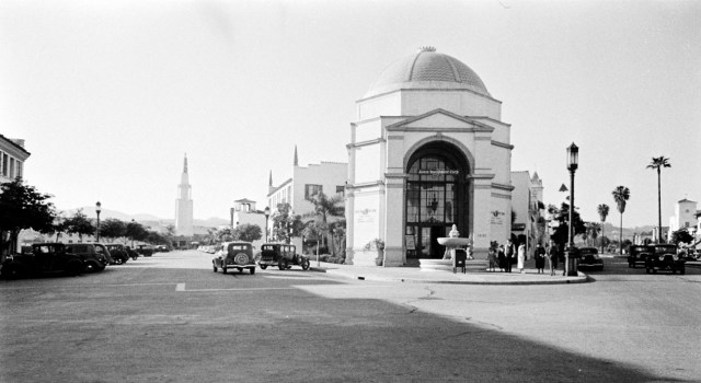 Westwood Village, Los Angeles, mid-to-late 1930s.