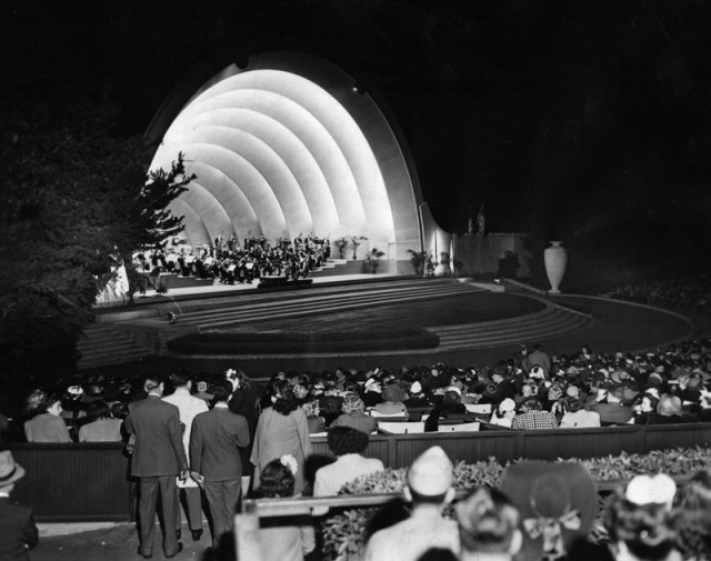 The opening concert of the 23rd season of the Hollywood Bowl, July 11, 1944