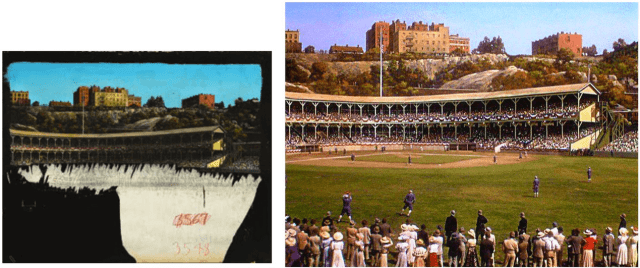 Matte painting from the MGM musical -Take Me Out to the Ballgame- (1949)