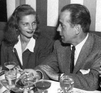 Bogart and Bacall at Mocambo