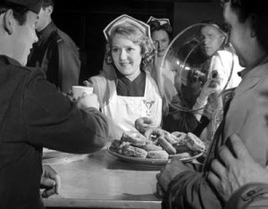 Mary Pickford at the Hollywood Canteen