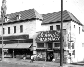Schwab's Pharmacy at 8024 Sunset Boulevard