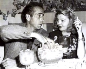 Humphrey Bogart and his 3rd wife, Mayo Methot, lived for a time at the Garden of Allah and frequented The Players