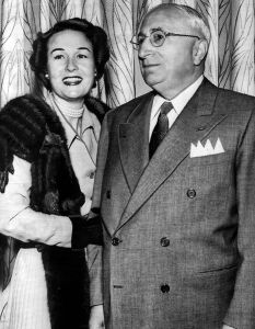 Louis B. Mayer and his wife Lorena.