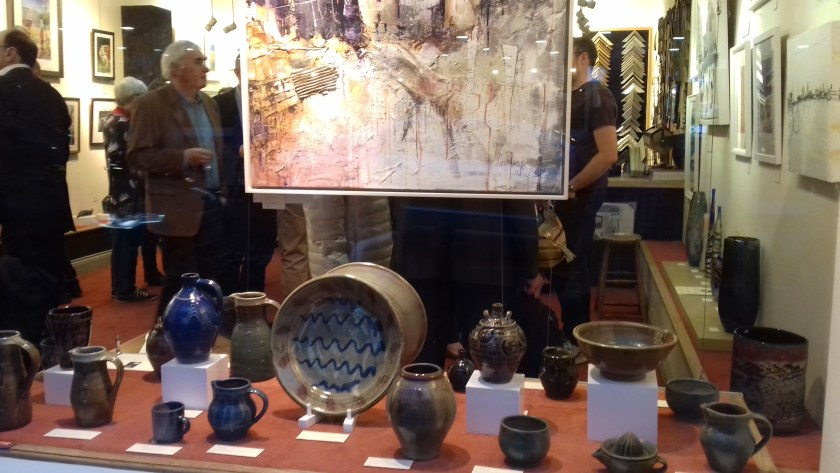 Martin Tyler Pottery at Barbers Gallery Woking