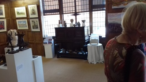 Guildford House Gallery display Martin Tyler