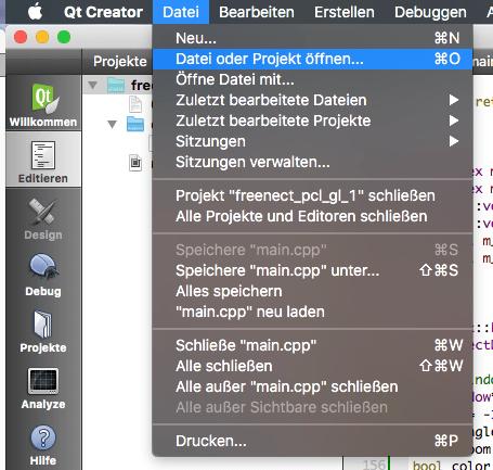 Using CMake and Qt Creator 5.5.1 – Martin's den