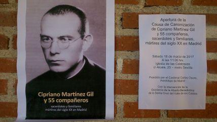 Causa de Cipriano Martínez y 55 compañeros.